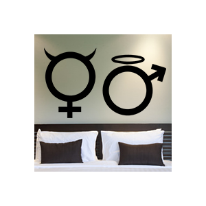 stickers Homme et femme