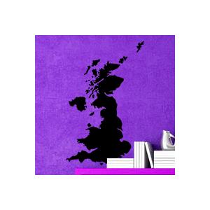 stickers Carte Royaume-Uni