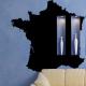 autocollant Carte de France 2275