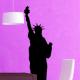 autocollant Statue de la liberté 2280