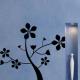 autocollant Arbres à fleurs 2343