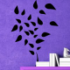 autocollant Arbres feuilles au vent 2346