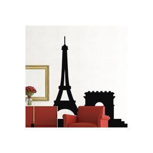 stickers Paris et arc de triomphe