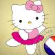 autocollant Autocollant Hello Kitty 2901
