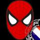 autocollant Autocollant Masque de Spider Man 2982