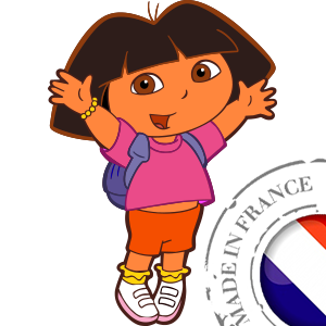 stickers Autocollant Dora