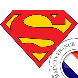 stickers Autocollant Superman