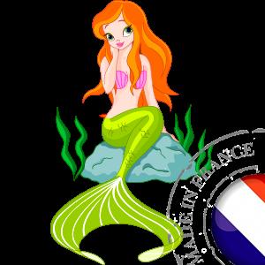 stickers Autocollant La Petite Sirène