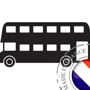 stickers Autocollant Bus Anglais