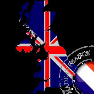 stickers Autocollant Carte British