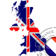 autocollant Autocollant Carte British 3074