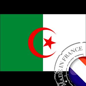 stickers Autocollant Drapeau Algerie