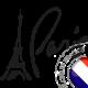 autocollant Autocollant Paris Tour Eiffel 3544