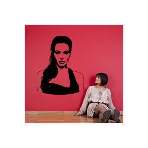 stickers Sticker Autocollant Angélina Jolie