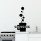 autocollant Espresso 2209