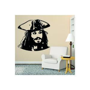 Sticker autocollant pirate des caraibes stickad - Decoration pirate des caraibes ...